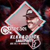 """2019.02.13. - KLKR & QUICK """"LakatParty"""" - DOBOZ, Budapest - Wednesday"""