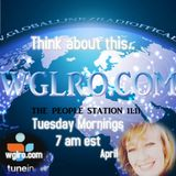 WGLRO RADIO with April Ayala and Donny Walker .. Think about this Tues 10-17-2017