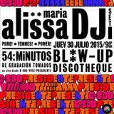 Alissa Maria DJSet en 0-800-VOTA-PRESIDENTE