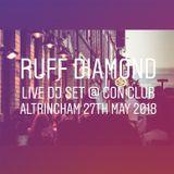 Ruff Diamond @ Con Club, Altrincham, Sunday 27th May 2018