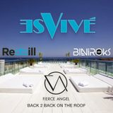 Biniroks & Redbill B2B at Es Vivé Hotel For Fierce Angel's Ibiza Weekend.