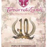 dj Dave Lambert @ 10 Years Tomorrowland Belgium - Cafeina stage 25-07-2014