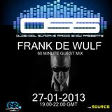 Frank de Wulf Guest Mix on Oldskool Sundays Radio Show 27-1-2013