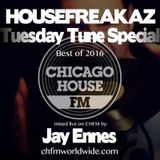 Housefreakaz Tuesday Tune Special, best of 2016 on CHFM