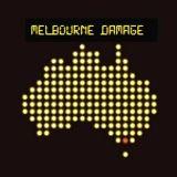 Melbourne damage