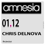 Chris DelNova@Amnesia Club_01 December 2017 [Tech House]