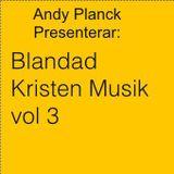 Blandad Kristen Musik vol 3