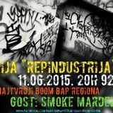 RepIndustrija Show 92.1 fm / br.2 Tema: Boom bap regiona Gost: Smoke Mardeljano
