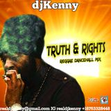 DJ KENNY TRUTH & RIGHTS REGGAE DANCEHALL MIX OCT 2017