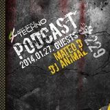 Dj Animal Art Style Techno Podcast 229