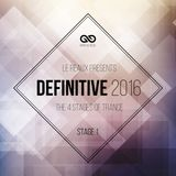 Infinitive: Definitive 2016: Stage 1