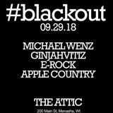 LIVE @ Blackout Sept 29th 2018