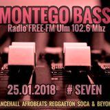 MONTEGO BASS Radioshow #seven @RADIO FREE-FM Ulm