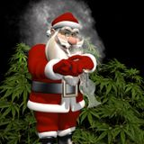 Santa Claus with some Weed