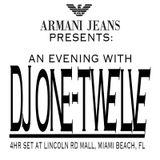 Armani Jeans Presents: An Evening by DJ One Twelve in South Beach (Summer/Fall-2016)