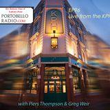 Portobello Radio Radio Show Ep 96, with Piers Thompson & Greg Weir: Deep In The Community