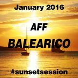 2016 JANUARY - AFF BALEARICO Sunset Session