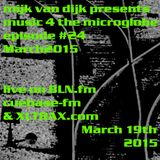 Music 4 The Microglobe #24 (March 2015)