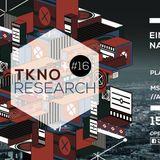 T.E.D@ SDX Techno pres. TKNO Research #16 [15.10.16][MS Connexion Complex,Mannheim]