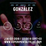 GONZÁLEZ - Remember Carnyval@Experimental Tv Radio  (14-02-2019)