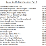 Funk, Soul & Disco Sessions Part 3