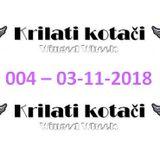 004 - Krilati kotaci (03-11-2018) radio show