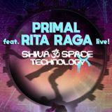 Primal feat Rita Raga live vocal @ Shiva Space Technology X chill stage