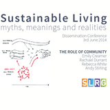 The Role of Community - Session 2, SLRG Dissemination Event