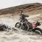 """Sara García: """"Tuve una pequeña caída y cuando levanté la moto ya no arrancaba"""""""