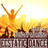 Ecstatic Dance Amsterdam - Sunday Morning - Dj Martyn Zij - 05-01-2014