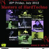 Pim's DJ presents PSYCHODRUMS (5Minds rec./Jackstar rec.) - Masters Of HardTechno (20/07/12)