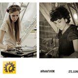 Alexandra & Dasha Redkina b2b @ ArmaBeach (2011-06-25)