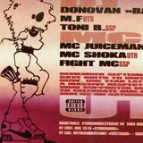 Toni B & MCs Shoka & Fight @ UT Records 1st Birthday 05.10.1996 Markthalle Berne