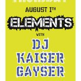 'Elements' At The WareHouse Amsterdam August First