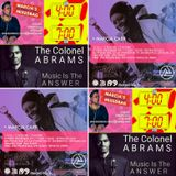 ALL NEW: Marcia's International MiXedBag [NO ADS] | 4am-7am |Sunday 4th Dec | Colonel Abrams tribute
