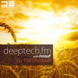 DeepTechFM 150 - Christauff (2016-09-15)