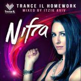 Trance IL HomeWork - The Best Of Nifra Mixed By Itzik Aviv