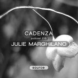 Cadenza Podcast | 213 - Julie Marghilano (Source)