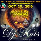 "DJ Kuts 10/20/2016 ""Third Degree Burns' Mixshow"" HipHopPhilosophy.com Radio & Radio Pulso Del Barrio"