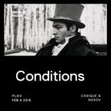 Conditions @ UNION 77 RADIO 4.02.2016 'Casique & Nosov'