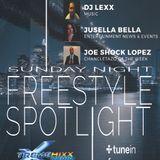 Sunday Night Freestyle Spotlight with Dj Lexx and Joe Shock Lopez 12-6-15