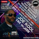 JOE KOOL Presents Deep Frequency House Sessions Live On HBRS  16 - 01 - 18