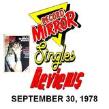 RECORD MIRROR SINGLES REVIEW: September 30, 1978