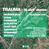 Juan Sdz live at Trauma - 26/04/13
