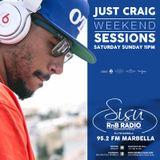 DJ JUST CRAIG - SATURDAY MIX on SISU RNB RADIO MARBELLA 95.2 FM