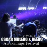Oscar Mulero & Reeko - Live @ Awakenings Festival, Holanda (24.07.2011)