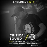 Exclusive Mix for III TRIDENT.sk & Critical Music
