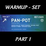 Sascha Wallus - Warmup Set ( Vor PAN POT ) Part 1 @ KISTE - 20.02.2015