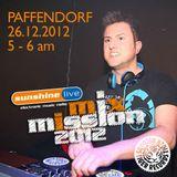 Paffendorf @ Sunshine Live MixMission (26.12.2012)