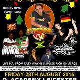 Stone Love, Jugglerz & Immortal @ O2 Academy, Leicester 28.08.2015